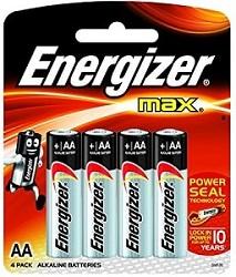 Energizer Battery Aa Max E91bp 4 Pieces Gobeba